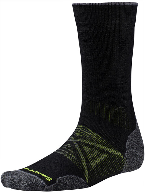 Smartwool PhD Outdoor Medium Crew - Chaussettes - noir